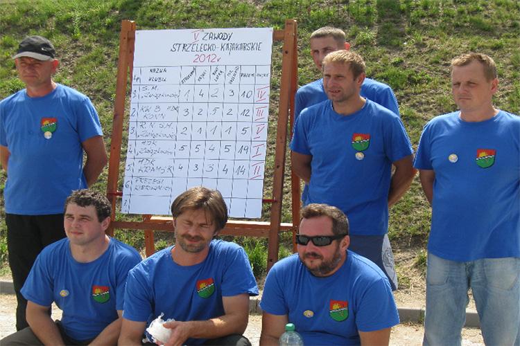 V Zwody Strzelecko Kajakarskie – 04.08.2012r.